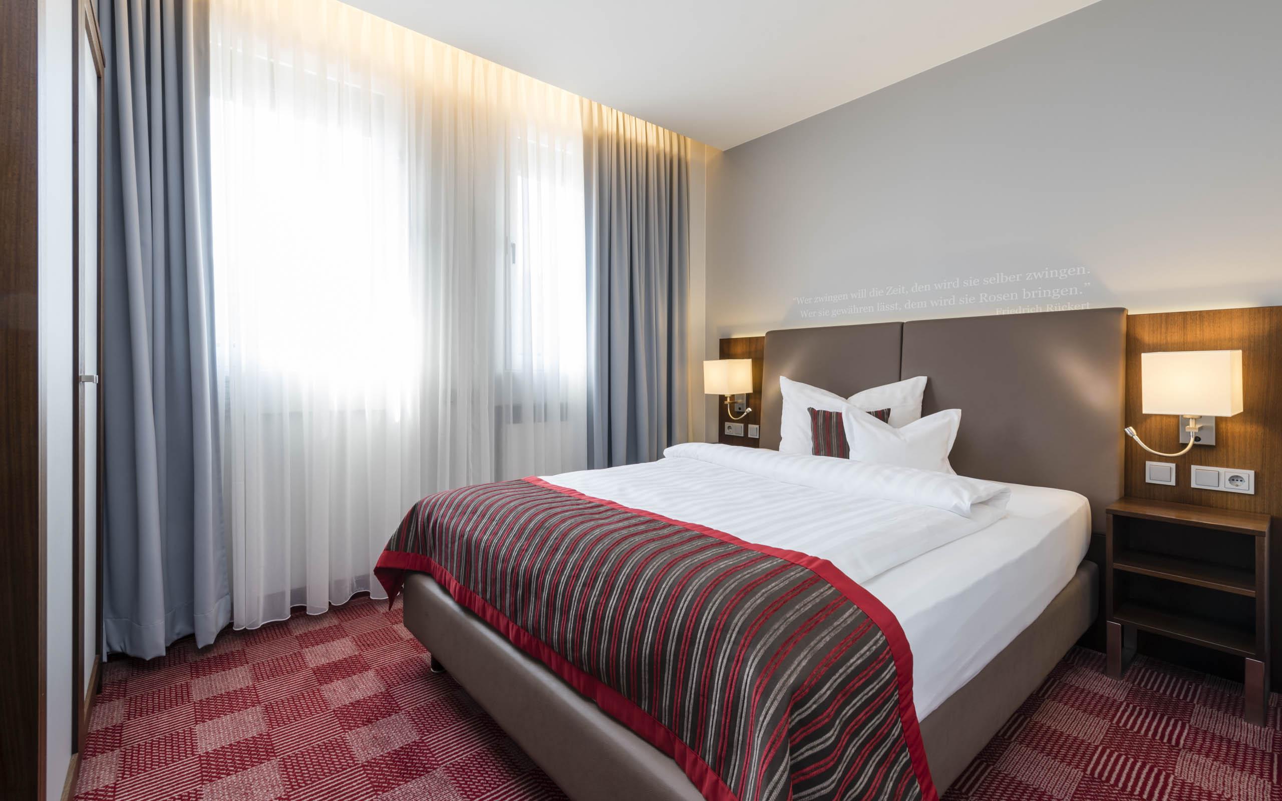 Hotel Coburg, Hotel Stadt Coburg, Standard Doppelzimmer