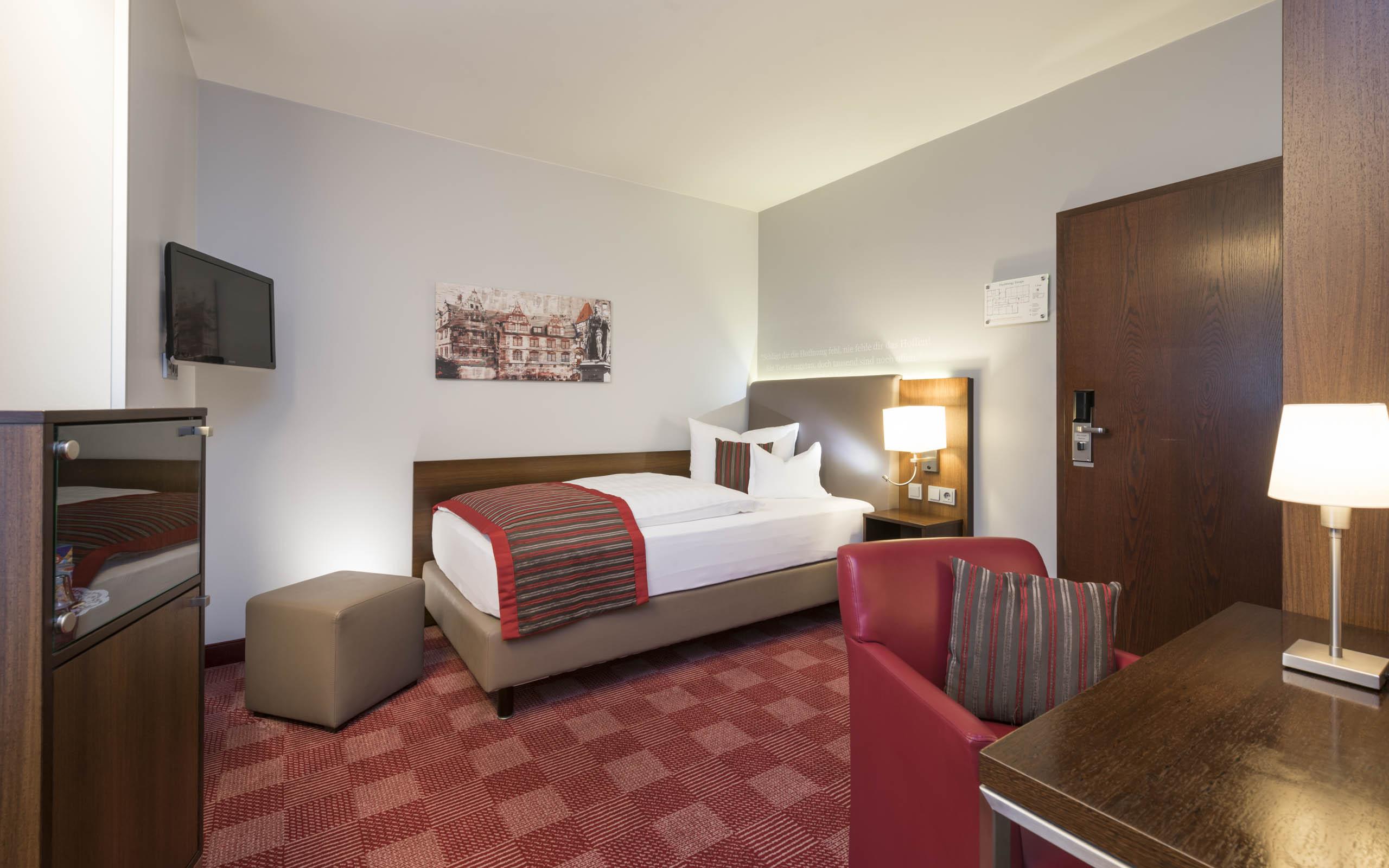 Hotel Coburg, Hotel Stadt Coburg, Superior Einzelzimmer