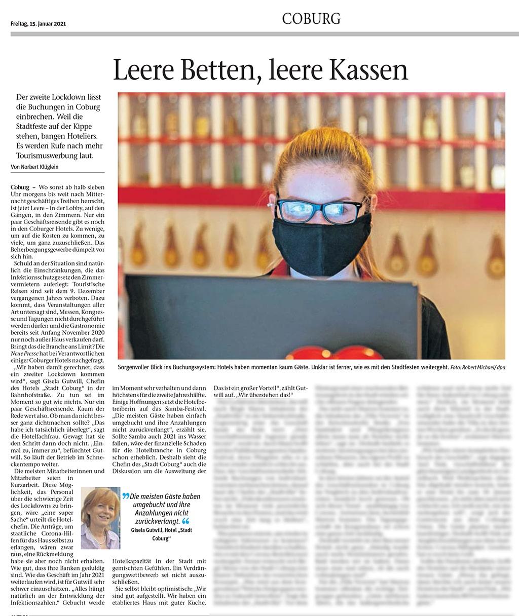 Bild Zeitungsartikel