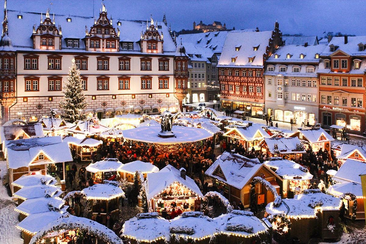 Weihnachtsmarkt Coburg 2021
